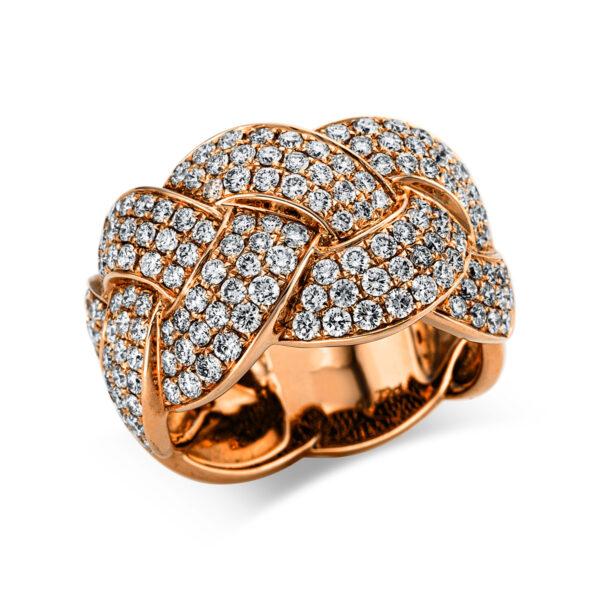 18 kt vörös arany pavé 164 gyémánttal 1W963R853-1