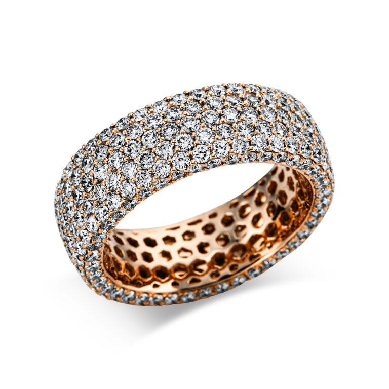 18 kt vörös arany pavé 294 gyémánttal 1X173R854-1